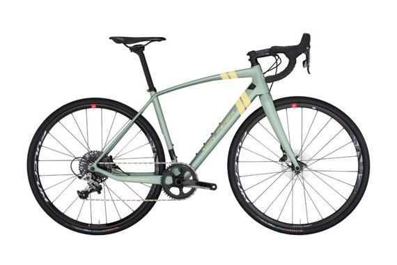 Rower Strasbourg 71 Force 1 Disc Pistache Green / Beige